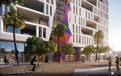 WYNWOOD 12-STORY OFFICE BUILDING PROPOSED AT 2500 N. MIAMI AVE, DESIGNED BY KOBI KARP